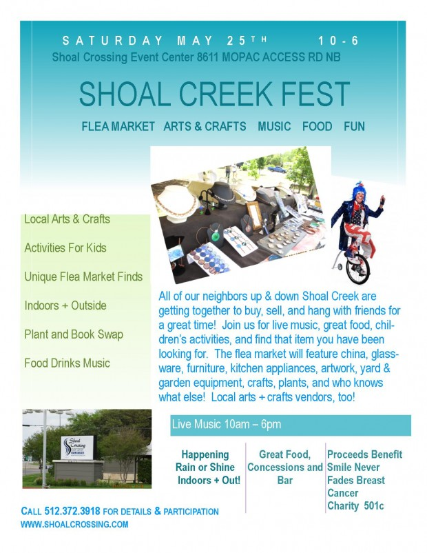 Shoal Creek Fest at Shoal Crossing!!!