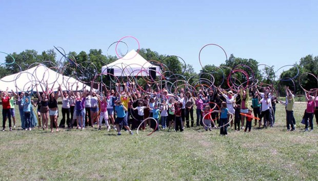 Hula Hoops for Hope
